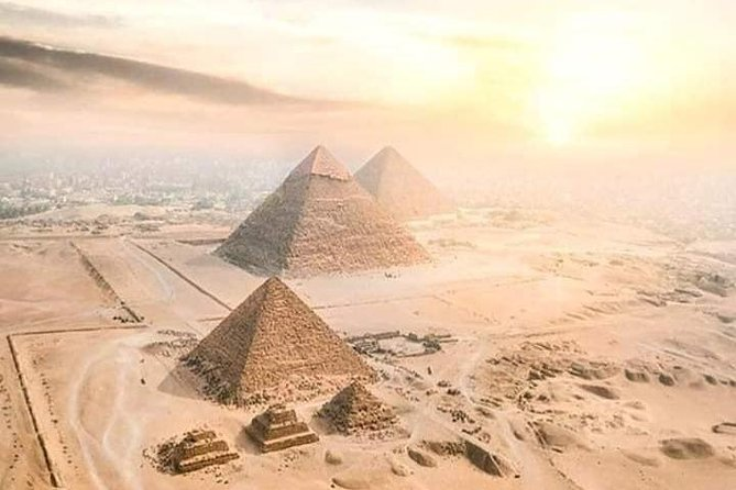 Arrival to Por Said Port, our representative will meet you will be transferred by a private air-conditioned vehicle to Cairo. to explore Great Pyramids of Giza and the Great Sphinx , proceeding to a lunch at an Egyptian Restaurant overlooking the Pyramids