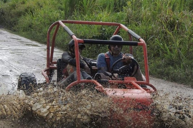 This is an incredible adventure that you will enjoy a lot. drive a Super buggy and get ready for an off-road adventure through the Dominican countryside. With your expert guide, splash through puddles, kick up some dirt, and leave a trail of dust in your way.