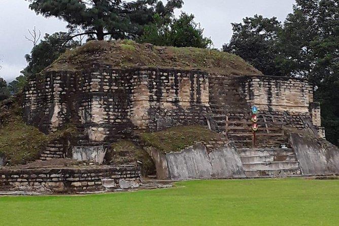 Iximche Mystique Mayan Ruins from Port Quetzal, Puerto Quetzal, GUATEMALA