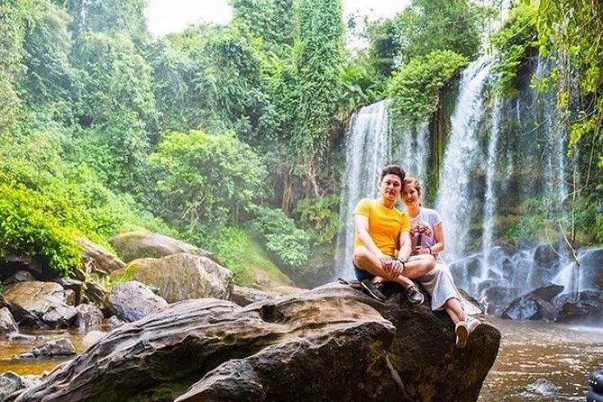 5HR: Phnom Kulen, 1000 Linga River and Waterfall Small Group Day Private Tour, Angkor Wat, CAMBOYA