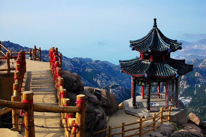 Jinan Bullet Train Trip to Qingdao City Highlights and Laoshan Mountain, Jinan, CHINA