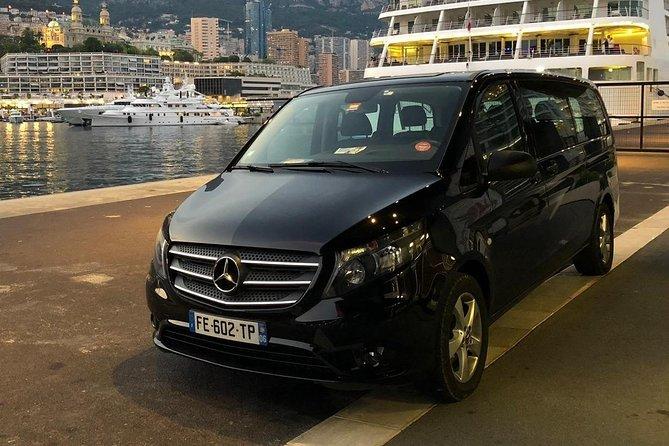 Traslado privado de salida al aeropuerto de Niza desde Cannes, Mónaco o Eze, Cannes, FRANCIA
