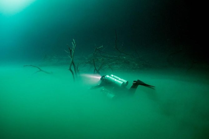 2 cenote divings (including one deep diving) for advanced divers in Tulum, Tulum, MEXICO