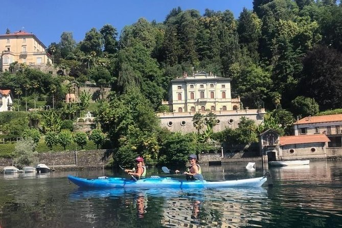 Paddle on the Orta Lake and San Giulio island, Lago Mayor, Itália