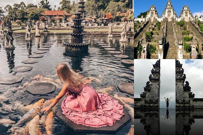"Make your Instagram followers envious as you explore Bali on a customizable day trip to its most beautiful recognizable hotspots. Hassle free hotel pick up and drop off are included, as well as a friendly local tour guide who will share gems about Balinese history and culture along the way. <br>Your first stop is the Hindu Lempuyang Temple. Famous for its split gate, the Gates of Heaven, you'll be able to take that very same photo you've seen so many times on Instagram. Then you'll then be whisked to Tirta Gangga, a former royal palace famous for its holy (and incredibly photogenic) water features and gardens. Next up is the former palace of Karangasem regency with its magnificent pools called ""Taman Ujung "" <br>Best of all your day trip can be fully customized so you can explore on your pace."