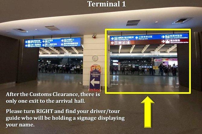Traslado privado para llegadas en Taipei: de Aeropuerto Internacional Taoyuan al hotel, Taipei, TAIWAN