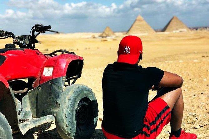 MÁS FOTOS, Guided Tour Giza Pyramids,Sphinx, Lunch,One Hour Quadbike