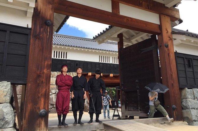 Kimono & Ninja Costume Rental in the Castle Town of Matsumoto, Nagano, JAPAN