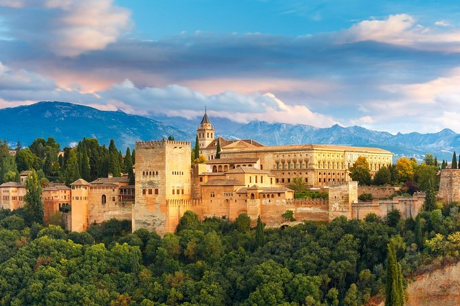 Taking this private tour from Almeria to Granada and the Alhambra Palace, we will visit one of the most beautiful architectural wonders of the world, It is home to two of Spain's best-known UNESCO World Heritage Sites.<br><br>We will explore with our private local Alhambra guide the gardens of the Generalife and the exquisite Moorish architecture of the Nasrid Palaces, framed by the stunning backdrop of the snow covered Sierra Nevada Mountains. From these ancient Palaces and gardens,you will enjoy stunning views of the beautiful city of Granada and the Gypsy quarters of the Albaicin.<br><br>After this private Alhambra Palace tour we will head up to the centre of Granada.You will have free time for lunch (not included), and then we head back to Almeria.<br>