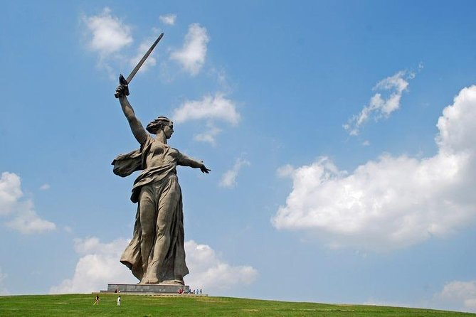 """During this special private """"Hero-City Stalingrad - Volgograd Today"""" sightseeing city tour you will visit the main historical sights and learn the history of the city from its foundation to the modern days including the most dramatic days in its fate during the Battle of Stalingrad.<br><br>The highlights of the tour:<br><br>Mamaev Kurgan memorial complex to the HEroes of the Battle of Stalingrad - the main height of Russia known as Hill 102.0<br><br>Central embankment named after 62nd Army<br><br>The Alley of Heroes street<br><br>Square of Fallen Fighters<br><br>Zero kilometer and Post Number One<br><br>Street of Peace – a symbol of rebirth of the city after the war<br><br>Pavlov's House - one of the famous fortresses of Stalingrad<br><br>Ruined Mill House <br><br>Pantheon of Soldiers' Glory and Eternal Flame<br><br>The grave of Vasily Chuikov commander of 62nd Army in Stalingrad and the most famous sniper of WW2 Vasily Zaitsev<br><br>All Saints Church <br><br>Welcome to the city of Volgograd!"""