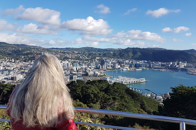 On this amazing private tour you will see the top attractions in Wellington city has to offer! You will be driven around the rugged coast line to Red Rocks with the South Island providing the backdrop.<br><br>Discover the stunning views from Mt Victoria, ride the Cable Car and wander through the Botanical Gardens, before visiting Old St Paul's Church and Parliament grounds with the iconic Beehive building<br><br>Lunch is taken at Chocolate Fish cafe by the beach and we tour Peter Jackson's film empire at Weta Cave.