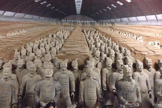 Xi'an in One Day from Jinan by Air: Terracotta Warriors, City Wall and More, Jinan, CHINA