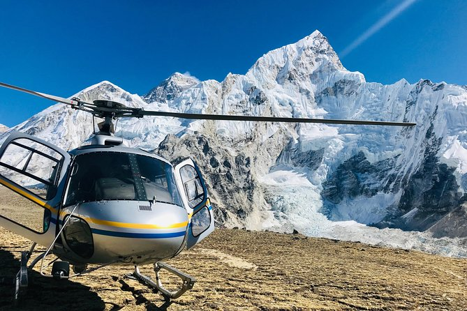 The Everest Base Camp Helicopter tour will take you to the Base camp of Mt. Everest. The Everest base camp Helicopter tour provides you a glance of Mt. Everest and its surrounding snow capped high Himalayan Peaks. Allowing you to land on Everest Base Camp or Kalapathar. The Everest Base Camp Helicopter tour is so far the best Ariel excursion in the world.<br><br>Mount Everest base camp is a very famous destination for the Adventure lovers. Walking to the Mount Everest base camp takes 12 to 14 days from Kathmandu to Lukla and back to Kathmandu, Trekking to Everest base camp and trek down to Lukla. From Lukla again we have to fly back to Kathmandu for 35 minutes approx.<br><br>Travelers who have a great desire to reach the Everest base camp but do not have sufficient time to Hike up and down, in this situation our  Helicopter  tour to Everest base camp along with group packages is the best and the most suitable one for those kinds of travelers.<br>