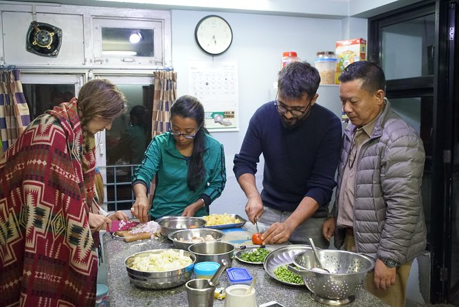 Cooking with a Family, Katmandu, NEPAL