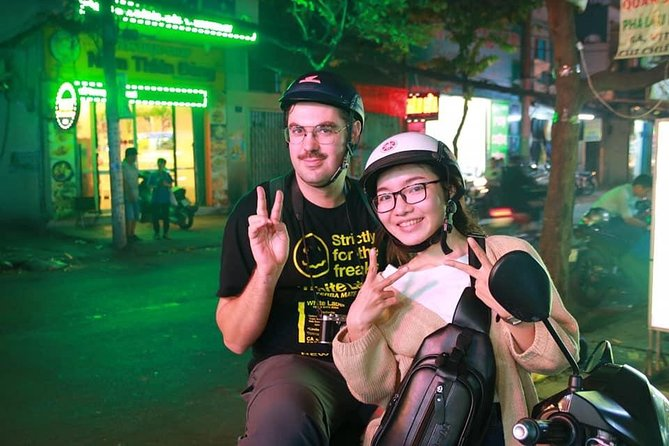 Saigon Evening Food Tour by Scooter, Ho Chi Minh, VIETNAM