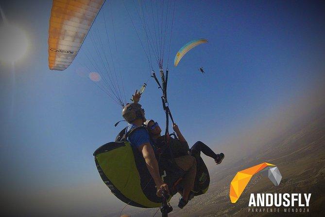 Parapente Vuelo Biplaza con Instructor + HD, Mendoza, ARGENTINA