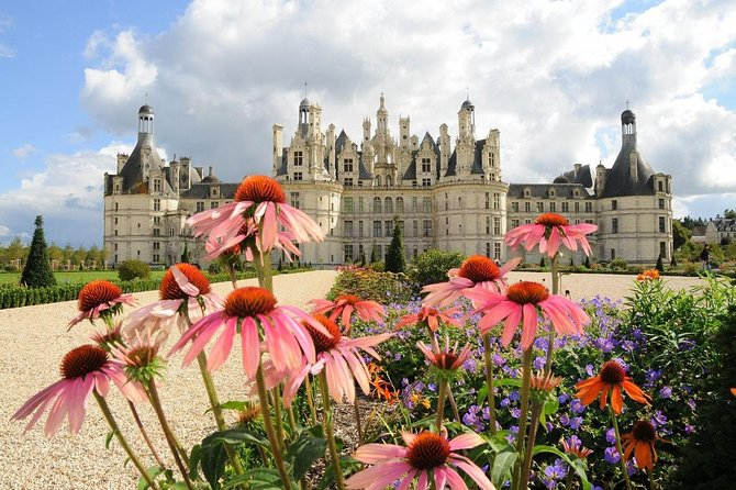 Enjoy a small group 9-hour tour in the Loire Valley. Your professional tour guide will show you the two most famous chateaux of the region, Chenonceau and Chambord, aboard a comfortable air-conditioned mini van. Then, taste great wines such as Vouvray.