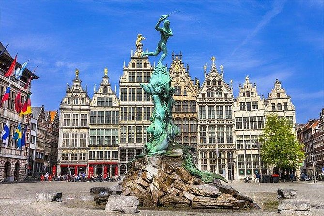 Make the most of your time in Belgium during this full-day excursion to Antwerp and Ghent from Brussels. Don't worry about time-consuming public transit; instead, benefit from round-trip transfers, as well as the insight of a local guide who can share context you might not have discovered alone, before exploring independently at your own pace.