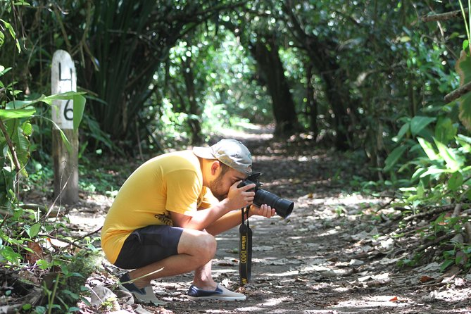 """In order to complete your experience on the Canals., The """"Jaguar"""" Trail is your <br><br>Best Choice. A guided walk along the trail, will make you Live and Breathe the <br><br>Peace and Tranquility that Nature Offers You..!!"""