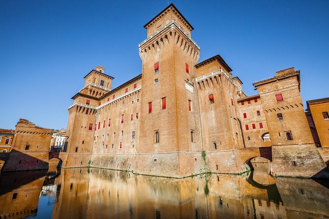 "Ferrara is the italian ""city of bikes""! Declared Unesco heritage site due to its well preserved city centre, in Ferrara you'll admire stunning palaces built by the famous Este family, such as the Estense Castle, now the symbol of the city, and the gorgeous Palazzo dei Diamanti."