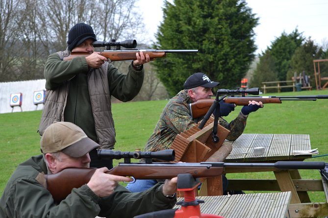 Wondering if you have what it takes to be a sniper? Try your skills out on our Air Rifle range in Brighton.<br><br>The session begins with a short safety induction from one of our onsite instructors. After this, you will have your turn with one of our 22 rifles. You can shoot from our seated area at targets from a distance of 10 to 30 metres away.<br><br>Air Rifle Shooting Details<br>All of our rifles have a fitted scope to assist you with your shooting. We also have a variety of targets including self-resetting, animal faced and Bisley targets.