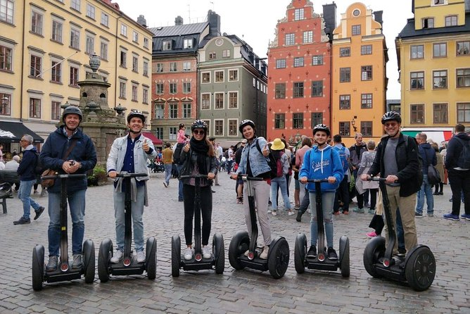 Segway Stockholm 3-Hours Tour, Estocolmo, Sweden