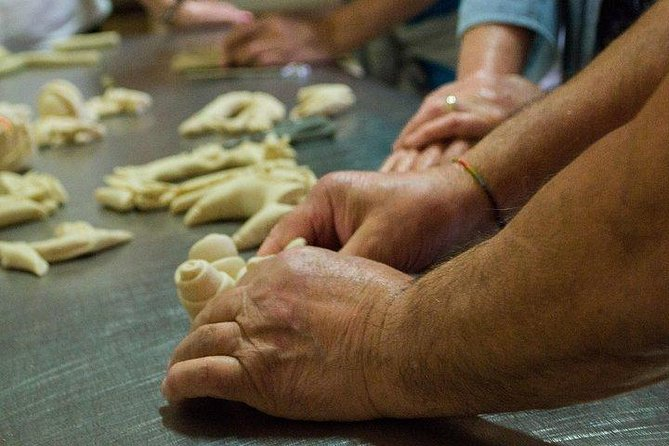 Baking bread experience. Learn how to make traditional Sardinian bread., ,