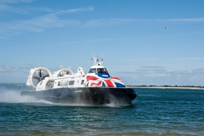 Experience the sheer thrill of riding a hovercraft! Travel on the World's only commercial foot passenger service, which is the fastest way to cross the Solent between Southsea in Portsmouth and Ryde on the Isle of Wight in just 10 minutes! <br><br>When the hovercraft reaches the Isle of Wight, you land in a prime sea front position along Ryde's beautiful and inviting beaches. Next, it's time to get off and enjoy what Ryde and the Isle of Wight has to offer including the beaches, boutique shops, bars and restaurants and travel links to elsewhere across the island! <br><br>After a day of fun on the island, enjoy a same day return journey back to the Southsea terminal.