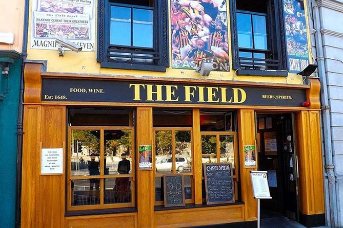 In Kilkenny City, we give visitors the opportunity to experience hurling at The Field Bar, the ultimate sporting bar in the city..<br><br>Here we give visitors a presentation information them of the history and rules of Hurling. Once visitors are up-to-date on the basics of Hurling and what it means to the community, we bring them to the nearby Hurling field to try the sport for themselves. Our coaches teach visitors the ground-stroke, hand-pass, solo-run, and hand strike. Visitors will realise that this sport isn't as easy as some of the top players make it look.