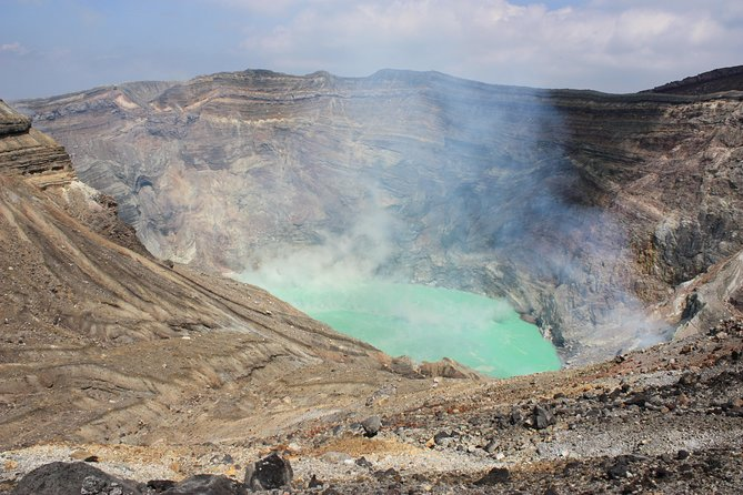 "If you want to appreciate the great nature at Mt.Aso from Fukuoka with your group (up to 20 people), this tour would be an ideal option for you! <br>Our bus will give you a comfortable ride throughout the tour. <br>You don't have to navigate your way using public transportation. <br>We are very familiar with the area and our private bus will help you save time and visit many places.<br><br>""DISCOVER FAR WEST IN FAR EAST"" From (or to) Fukuoka Japan, <br>our private chartered bus will support your journey.<br><br>Mount Aso is the heart of Kyushu, located in the middle of Kyushu, <br>the western island nation of Japan. The volcano is still active.<br><br>It is a very popular place in Kyushu from spring to autumn, <br>which is said it can ease daily life's stress.<br><br>Accessible from Fukuoka, it is ideal for outdoor groups as well.<br><br>*We are careful about coronavirus<br>・ We clean the inside and outside of our buses well<br>・ We do not miss the ventilation of our buses<br>・ When the weather is not good, put an air purifier in our buses"