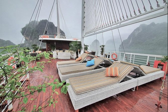 FULL DAY All-Inclusive HALONG BAY/LAN HA BAY/BAI TU LONG BAY at BEST CRUISES, Halong Bay, VIETNAM