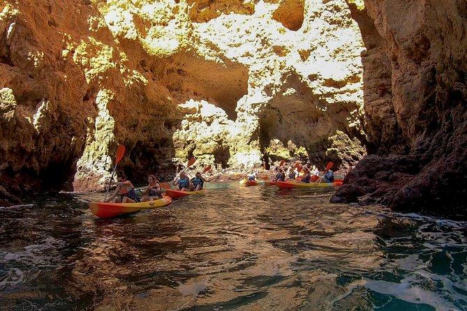 2-hour Kayak Tour of Ponta da Piedade Caves and Beaches, Lagos, PORTUGAL