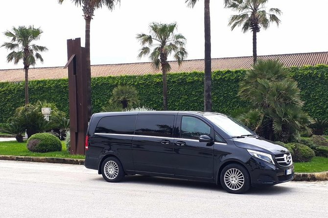 Book your private transfer from Palermo airport (Punta Raisi) or Palermo city to Verdura Resort, Sciacca. We take you directly to your destination in one of our cars, minivans or minibuses.<br>What's Included:<br>- NO HIDDEN COST<br>- PROFESSIONAL DRIVERS<br>- FREE CANCELLATION UP TO 24 HOURS BEFORE YOUR ARRIVAL<br>- MEET & GREET SERVICE (Our driver will wait for you in the arrival hall with a sign with the name of the main passenger)<br>- FREE BOTTLE WATER<br>- 60 MINUTES OF WAIT<br><br>Take advantage of our best offers and book the transfer from Palermo or Palermo city airport to Verdura Resort, Sciacca.