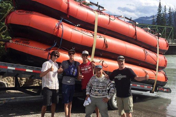 Athabasca River Scenic Float Trip, Jasper, CANADA