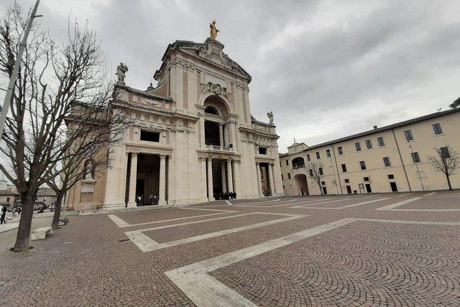 Assisi: the Three Major Basilicas. St. Francis, St. Clare and Porziuncola chapel, Assisi, ITALIA