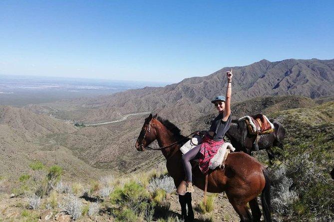 Cabalgata y asado en las montañas de Mendoza, Mendoza, ARGENTINA