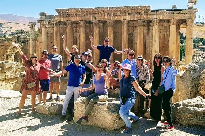 Enjoy personalized attention from your guide and an intimate atmosphere on this small-group tour of Baalback, Anjar, and Ksara. Travel from Beirut in a comfortable minivan or coach and cover all the highlights of the three destinations and enjoy having time to ask questions as you travel.<br>Lunch and entrance fees are included in this small-group tour as well as hotel pick up and drop off from your hotel in Beirut.