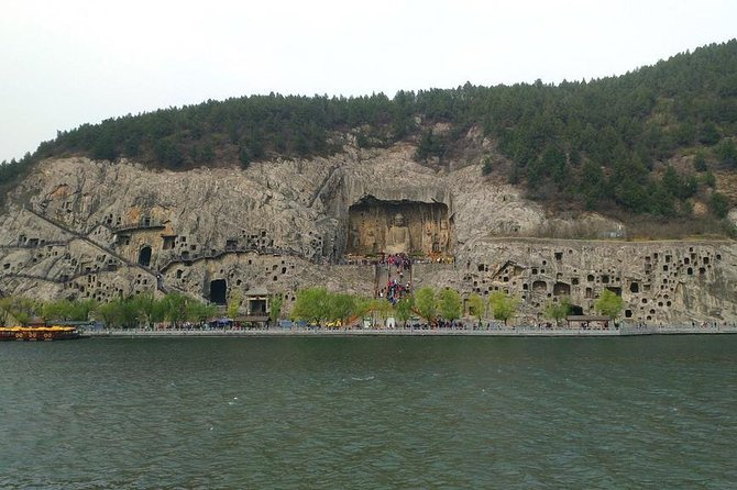 Private DayTour of White Horse Temple,Old Street,Longmen Grottoes with Boat Ride, Luoyang, CHINA