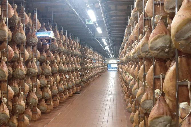 Visit an artisan culatello producer in Emilia-Romagna, and learn how the king of the cured meat is produced. You'll learn about the origins of the Italian ham, the curing that is done by hand, and the aging process that gives the meat its robust flavor. Finish with a lunch of local delicacies, wine, and culatello, of course. Transport from Parma is not included.