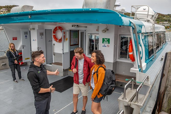 Book this one-way ferry ride from Stewart Island to Bluff for a comfortable journey across Foveaux Strait on our modern catamarans.
