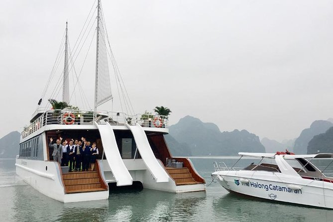 MÁS FOTOS, FULL DAY All-Inclusive HALONG BAY/LAN HA BAY/BAI TU LONG BAY at BEST CRUISES