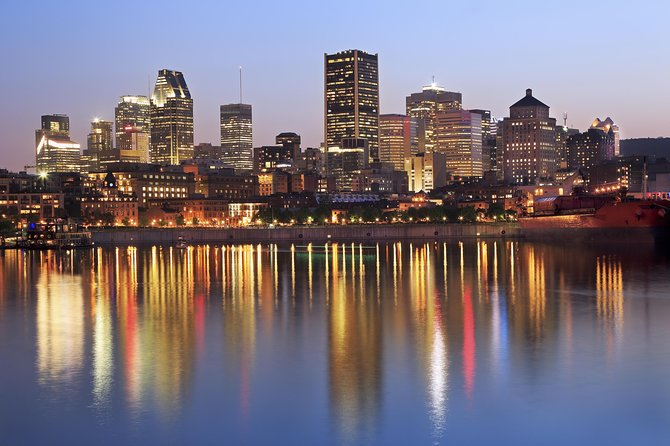 Montreal at Night Tour, Montreal, CANADA