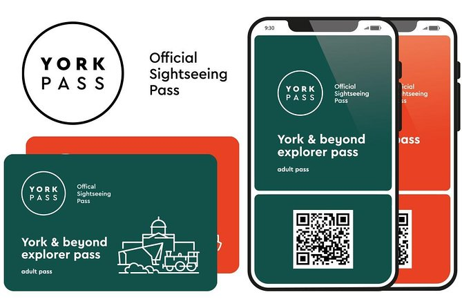 York Pass is a sightseeing card which gives visitors free entry to top attractions, museums and monuments in York.<br><br>It includes a free 24 Hour hop on hop off bus tour plus a choice of three pasta or pizza dishes at ASK Italian Restaurant, York.<br><br>Once purchased, you will receive your digital pass directly to your email address for use on your mobile device. Simply show your pass at the attraction to gain entry.<br><br>Pre-booking is required at some attractions so please check and plan before your visit.<br>York's iconic attractions are all currently busy due to limited visitor numbers and may not be able to guarantee the slot you require.<br><br>Your York Passes open the gateway to adventure and they include a 24-hour ticket for the City Sightseeing Bus and City Cruises York's River Cruise. The pass doesn't stop there! When the long day of your journey leaves you hungry, you can tuck into a pasta or pizza meal at ASK Italian (T&C's apply).