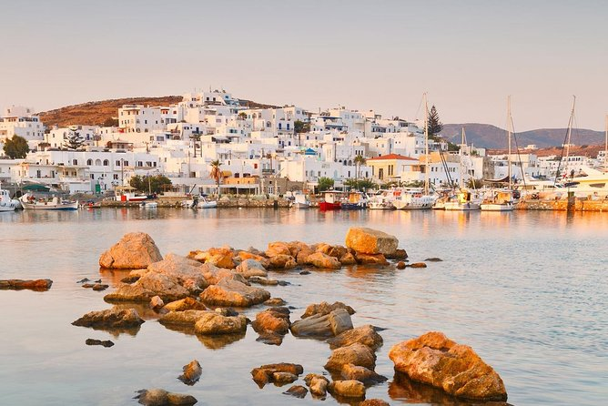 Route:<br>• 09:30 Pick up from your hotel<br>• 10:00 We set sails to Kolympithres a very nice bay for swimming<br>• 14:00 We will go to Monastiri and stay ashore to overnight from where you will have the opportunity to visit the beautiful village of Paros Naoussa. <br>• 08:30 We will go to Santa Maria or Piso Livadi for swimming. <br>• 14:00 We set sails to Despotiko, Antiparos A few words about Despotiko: The island is a place of peace and calm with the coast offering small caves and sandy beaches to stop with a boat and enjoy. The island of Despotiko is one worth exploring on your adventure to Antiparos.<br>• 20:00 We return back to Paros