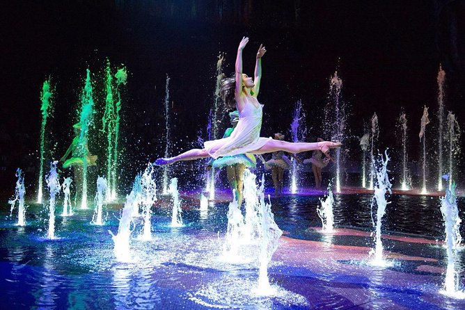 - The world's most unique exciting performance<br>- Global leading facilities<br>- The beauty of dance and art<br>- Unique audio-visual effects<br>- One of the most spectacular water shows