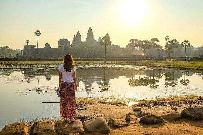 Angkor Sunrise Bike Tour with Breakfast & Lunch, Angkor Wat, CAMBOYA
