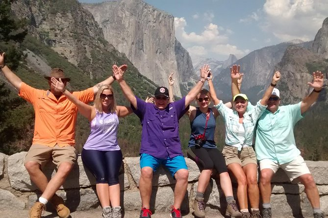 Private Yosemite Tour at your pace. If you have more than 4 guests in your group you can use this option for up to 9 guests in a comfortable Van. All at one price. Your family and friends can enjoy a private tour instead of being, think of a sheep blindly following the flock no matter where they go just ...in a larger group in a bus with other strangers. Our local guides can make this trip special for you. Private Tour so you can decide the schedule whatever is convenient to you and we can customize the tour for your needs. Just let us know what your interests are we do the rest.