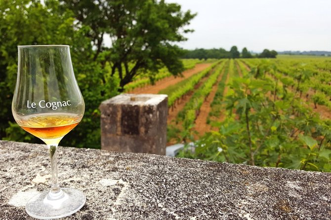 Cognac is not only a luxury product. It is also a terroir product elaborated by several thousands of vine-growers who are craft distillers.<br><br>Explore, in this full day private tour, the vineyard of Cognac with an English speaking local guide and driver, visiting craft distilleries where some of the best cognacs are produced. Do not worry about driving, you may fully enjoy your tastings and meetings with traditional producers hidden in the vines.<br><br>Week days we enter a craft cooperage (barrel making), where they produce oak barrels, to have a better understanding the ageing process of cognac.<br><br>The tour includes the visit of 2 craft distilleries producing their family cognacs and being at the same time suppliers of some of the most famous cognac brands.<br><br>Stops at nice points of view to discover the landscapes, the local architecture, make your most original photos.<br><br>A typical local restaurant is suggested by the guide.