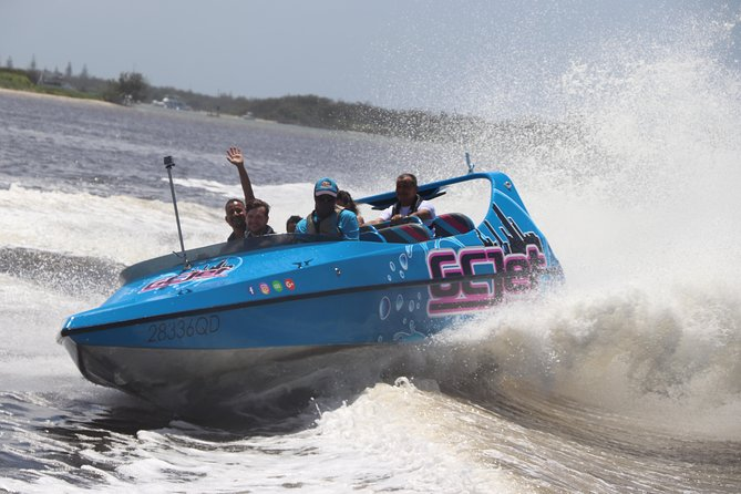 Gold Coast V8 Jet Boat Thrill ride, Gold Coast, AUSTRALIA
