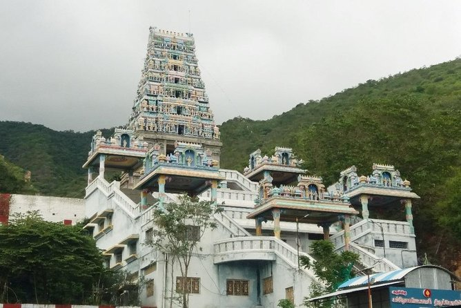 Subramaniyaswami Temple, Marudamalai is a popular hill temple dedicated to Hindu god Murugan,  considered as the Seventh House of Lord Murugan. Like most Murugan temples, the temple is situated upon a hillock part of the Western Ghats .